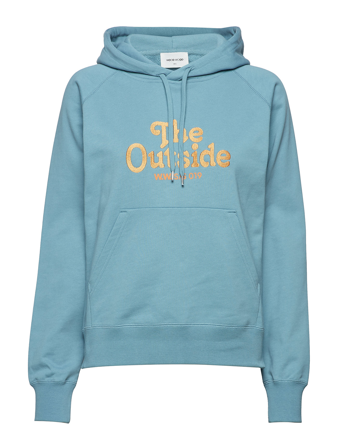 cf5d26b8815 Penelope Hoodie hoodies fra Wood Wood til dame i DUSTY BLUE - Pashion.dk