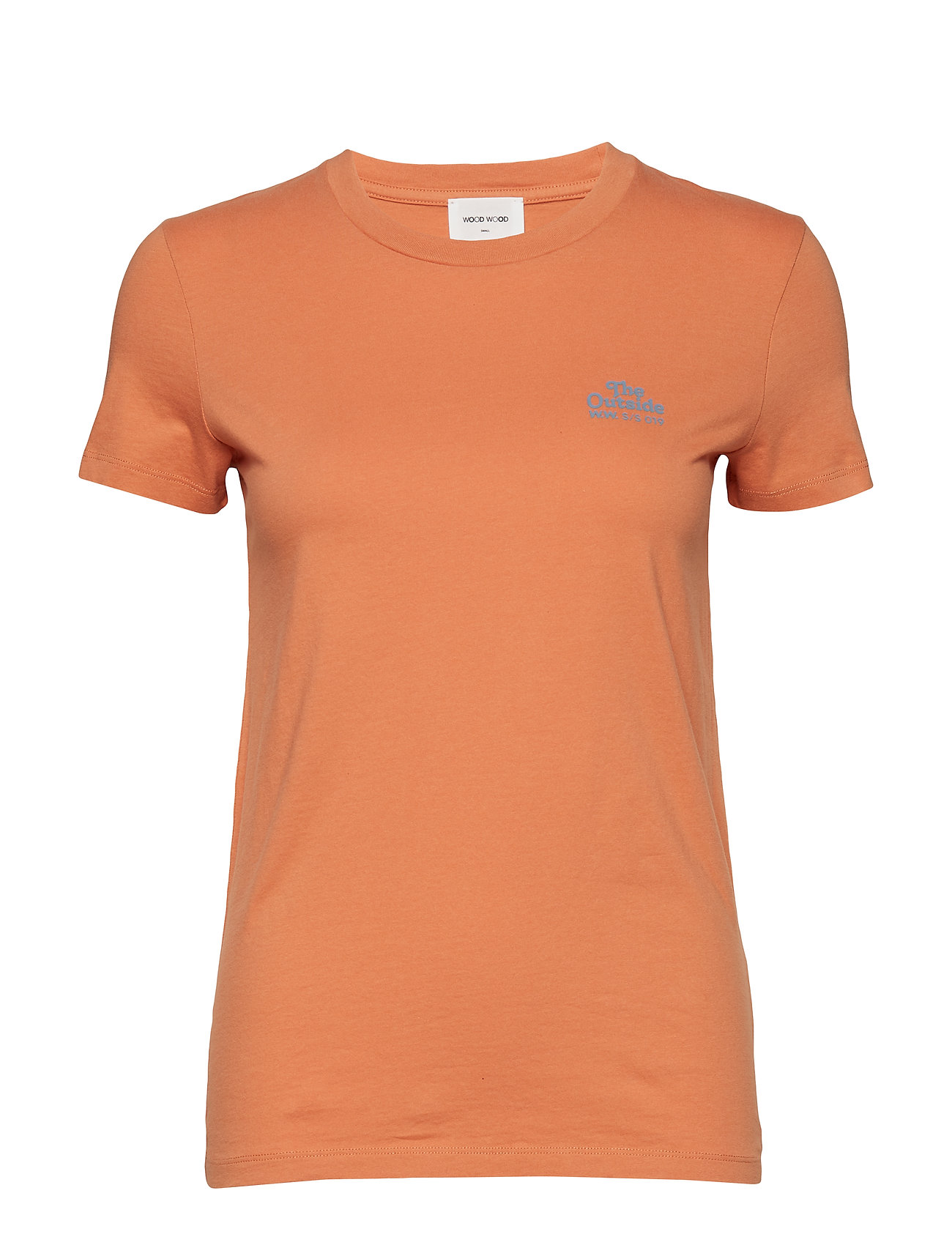 Wood Wood Eden T-shirt - DUSTY ORANGE