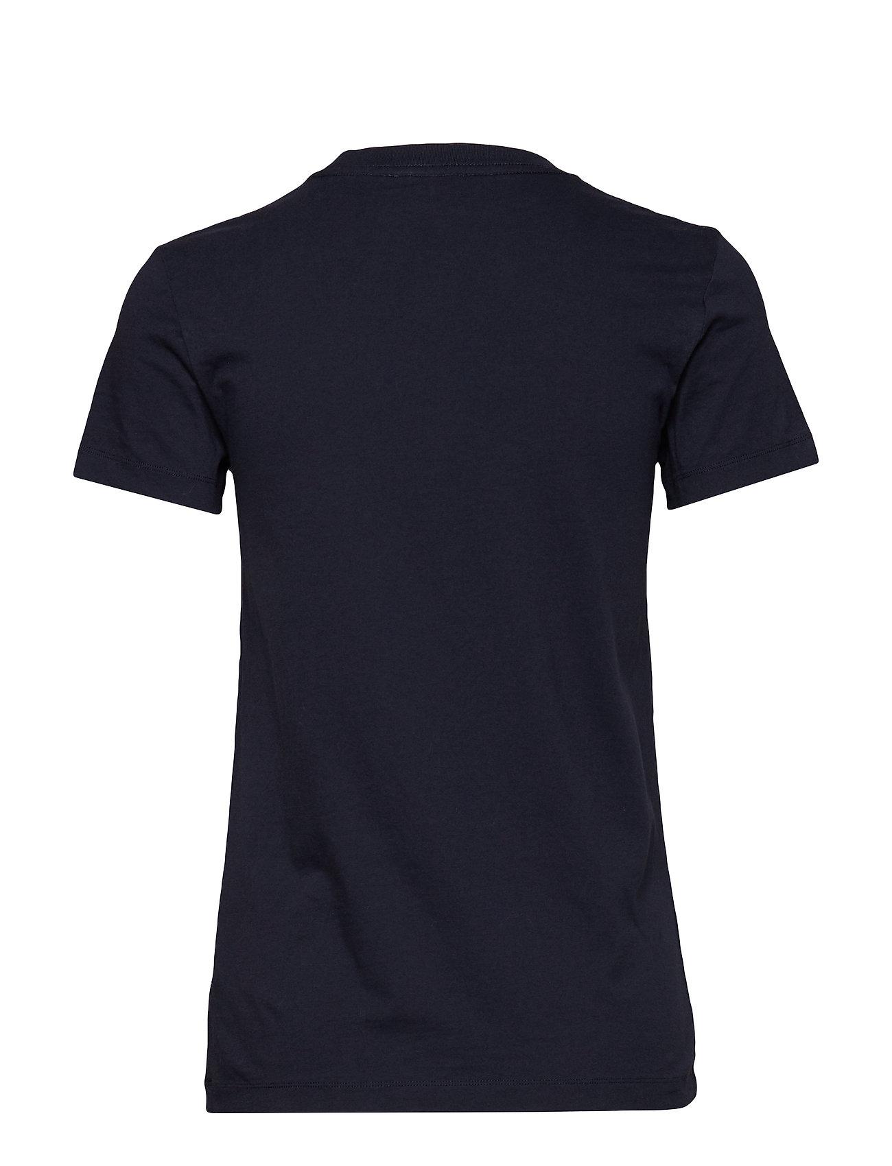 Eden T Shirt T shirt Top Blå Wood Wood