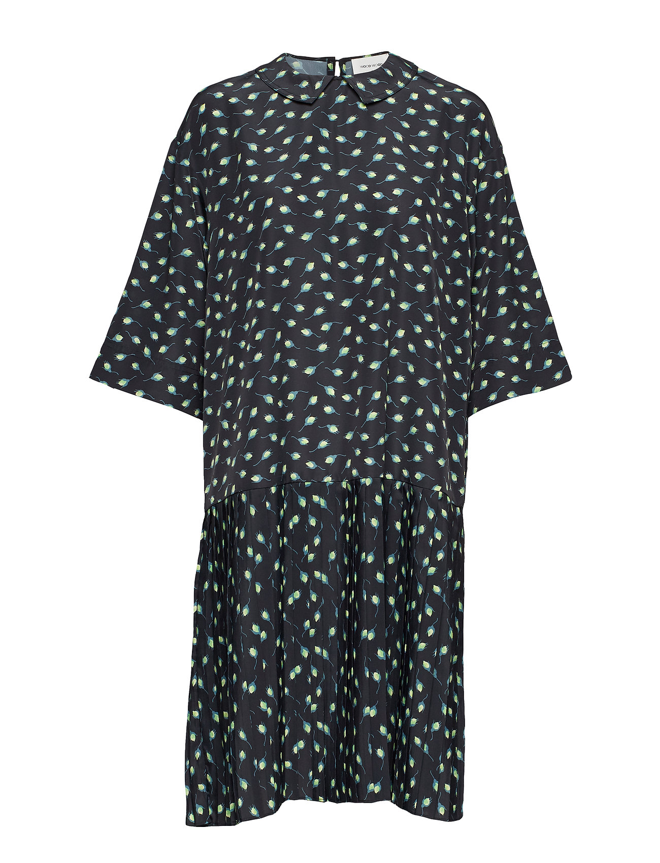 Wood Wood Jensine dress - BLACK AOP
