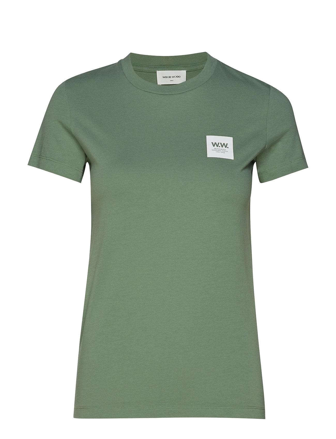 Wood Wood Eden T-shirt - DUSTY GREEN