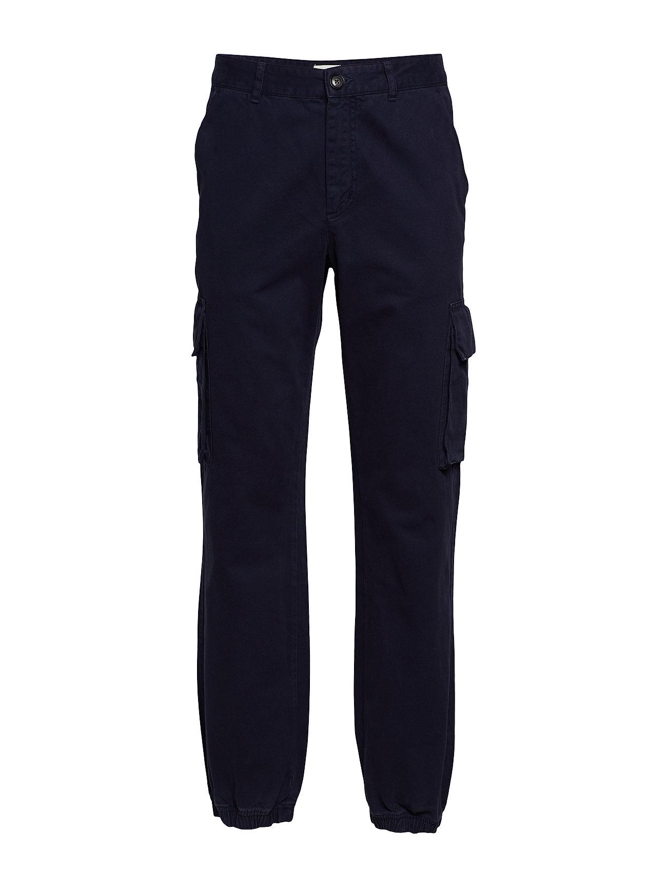 Wood Wood Eigil trousers - NAVY