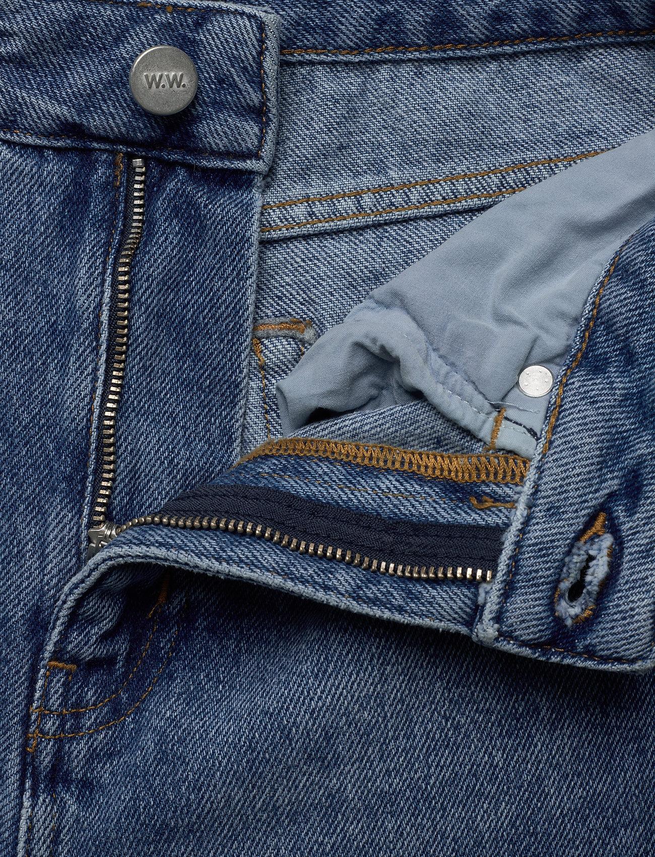 Wood Wood Ilo jeans - Dżinsy CLASSIC VINTAGE - Kobiety Odzież.