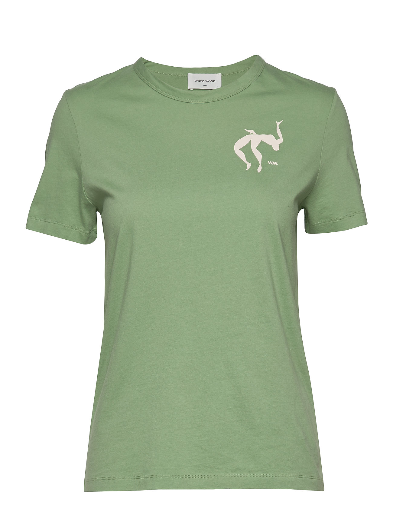 Wood Wood Aria T-shirt - DUSTY GREEN