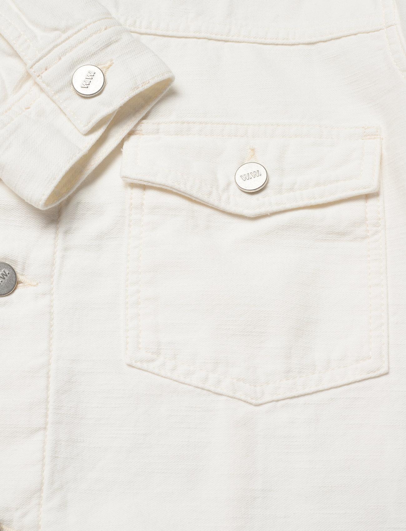 Wood Wood Cam jacket - Jakker og frakker OFF-WHITE - Menn Klær