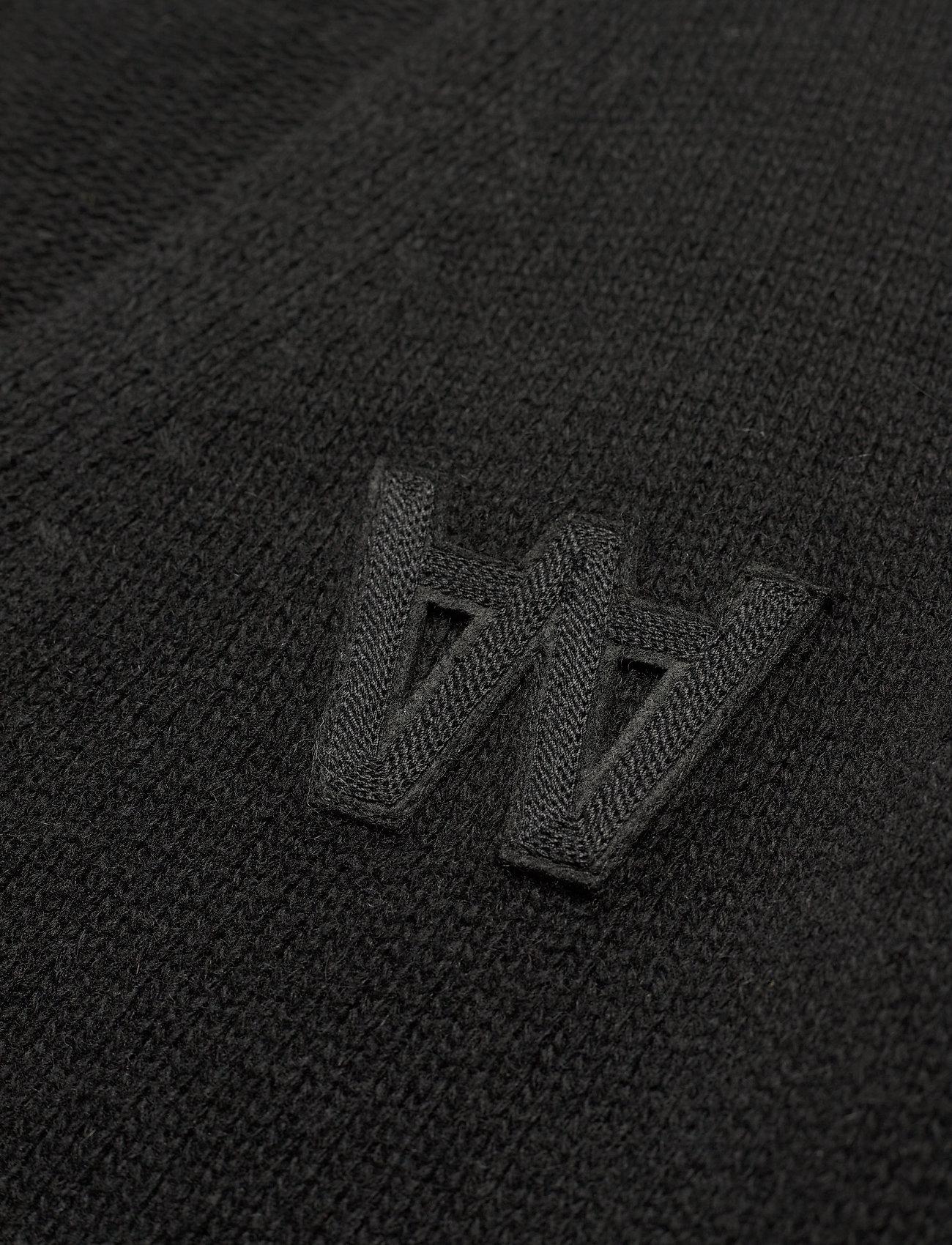 Wood Wood Kalle cardigan - Strikkevarer BLACK - Menn Klær