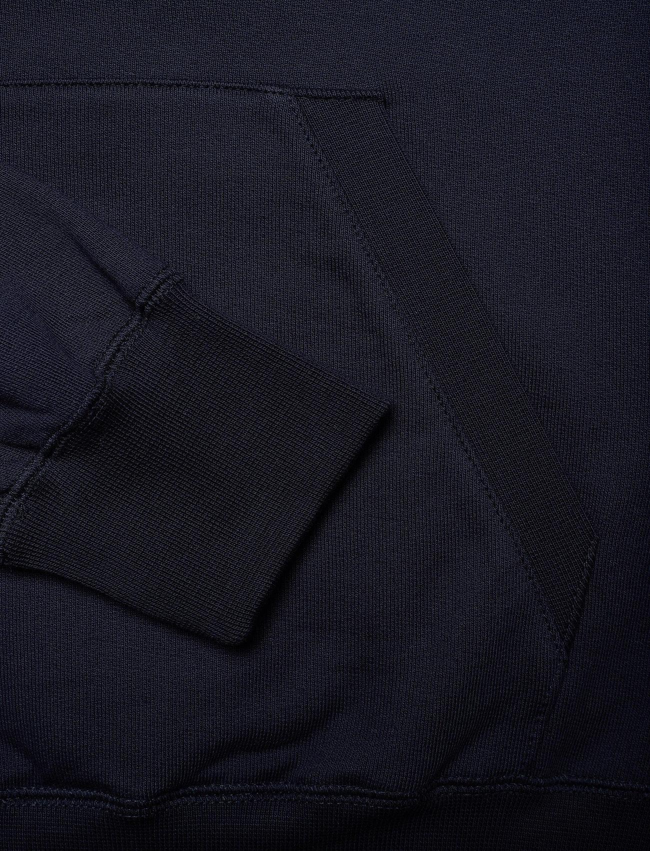 Wood Wood Fred hoodie - Sweatshirts NAVY - Menn Klær