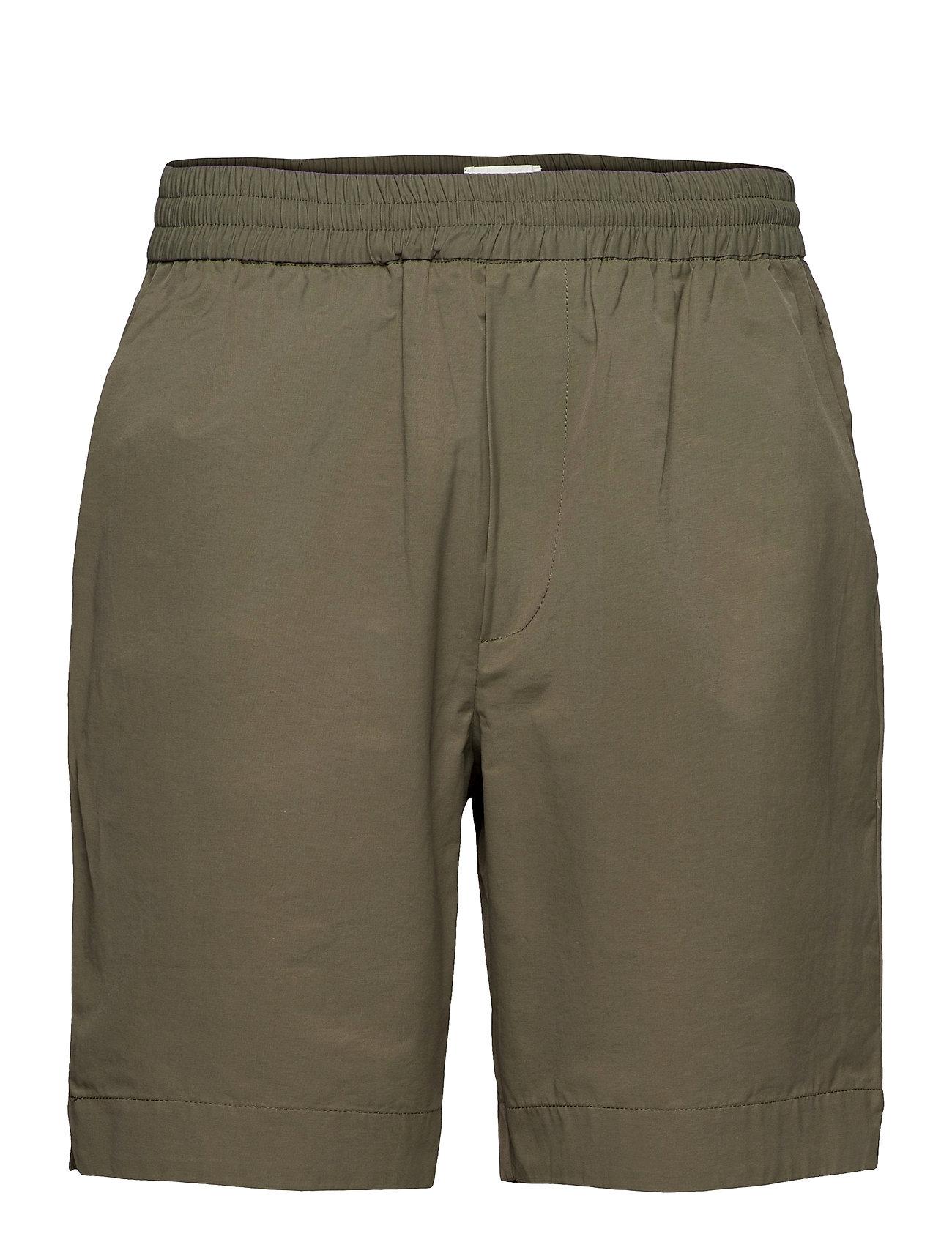 Baltazar Tech Shorts Shorts Casual Grøn Wood Wood