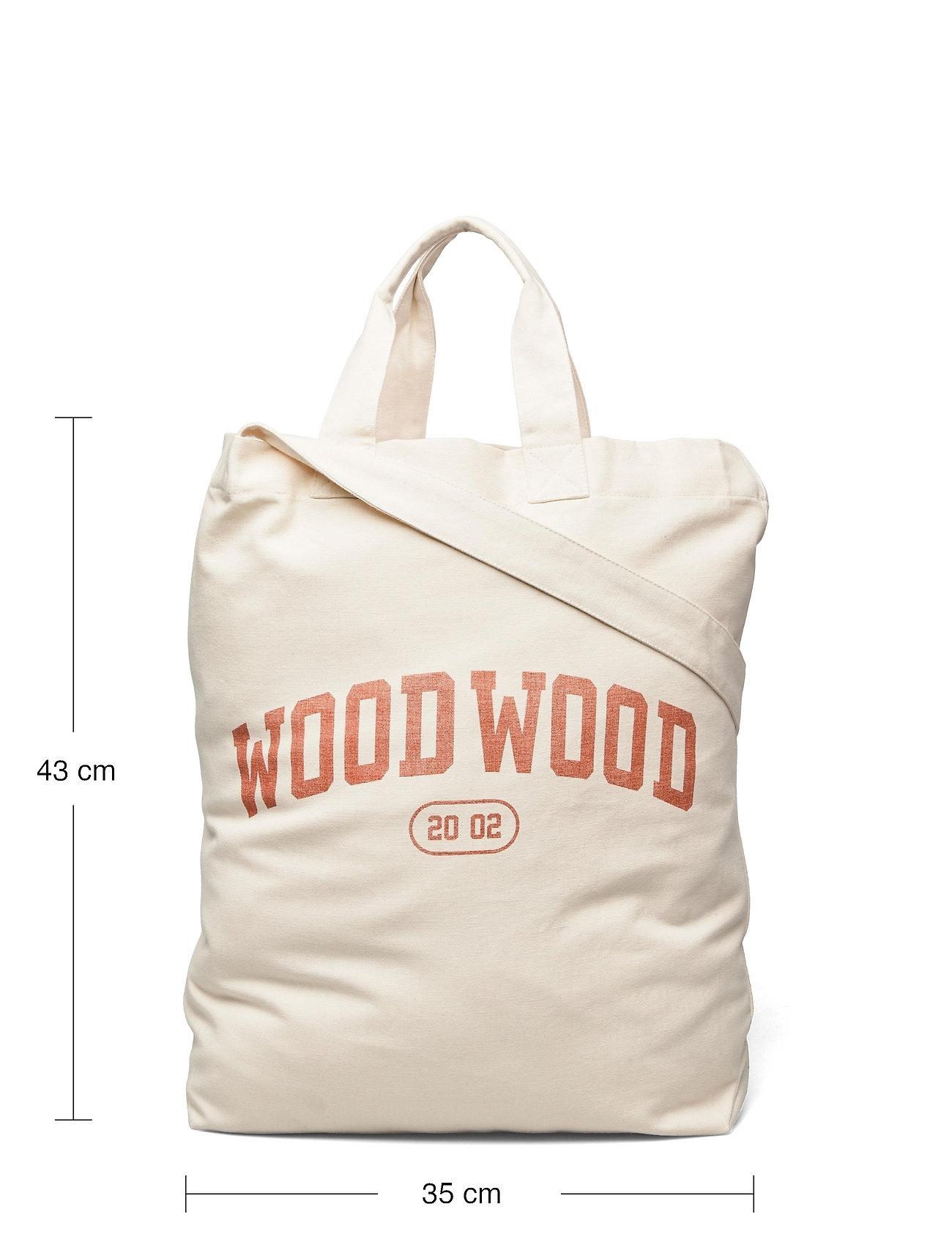 Wood Wood - High canvas shopper - shoppers - blood orange - 5
