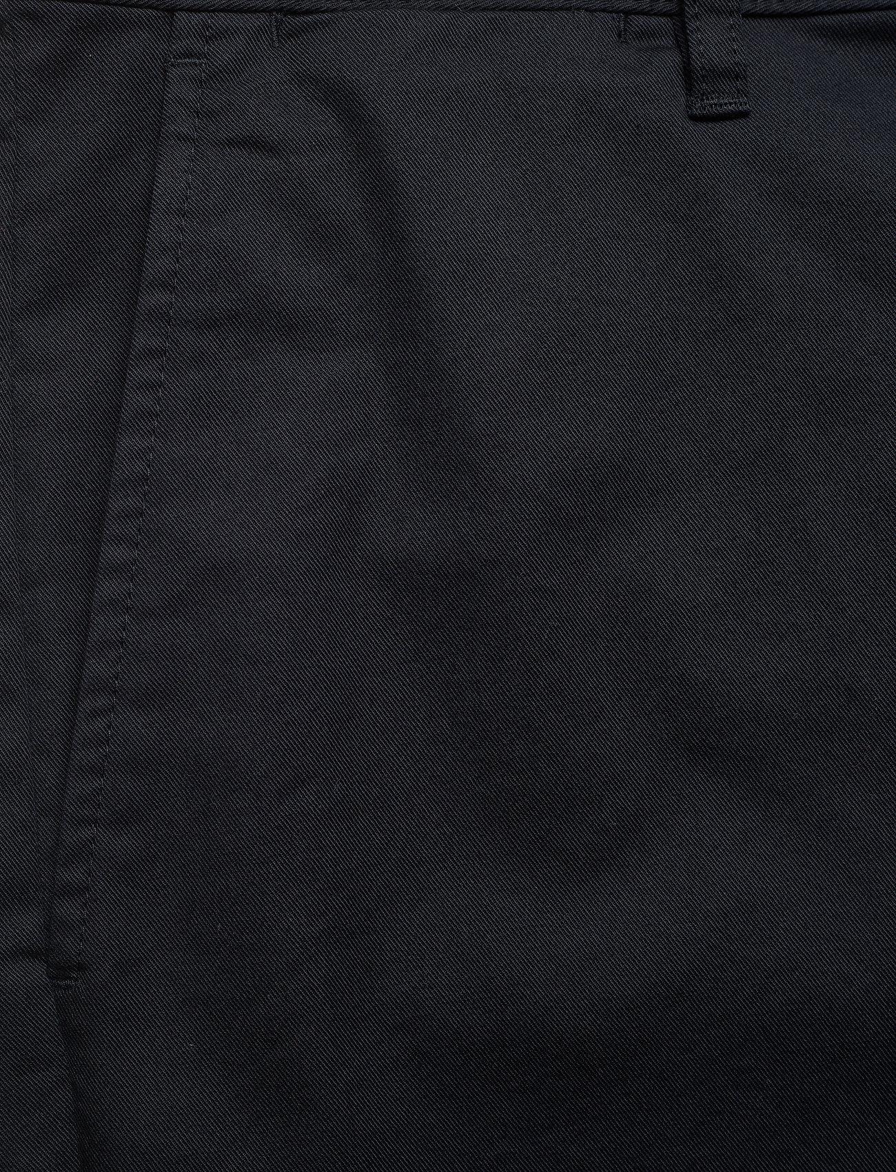 Wood Wood - Jonathan light twill shorts - chino's shorts - black - 3