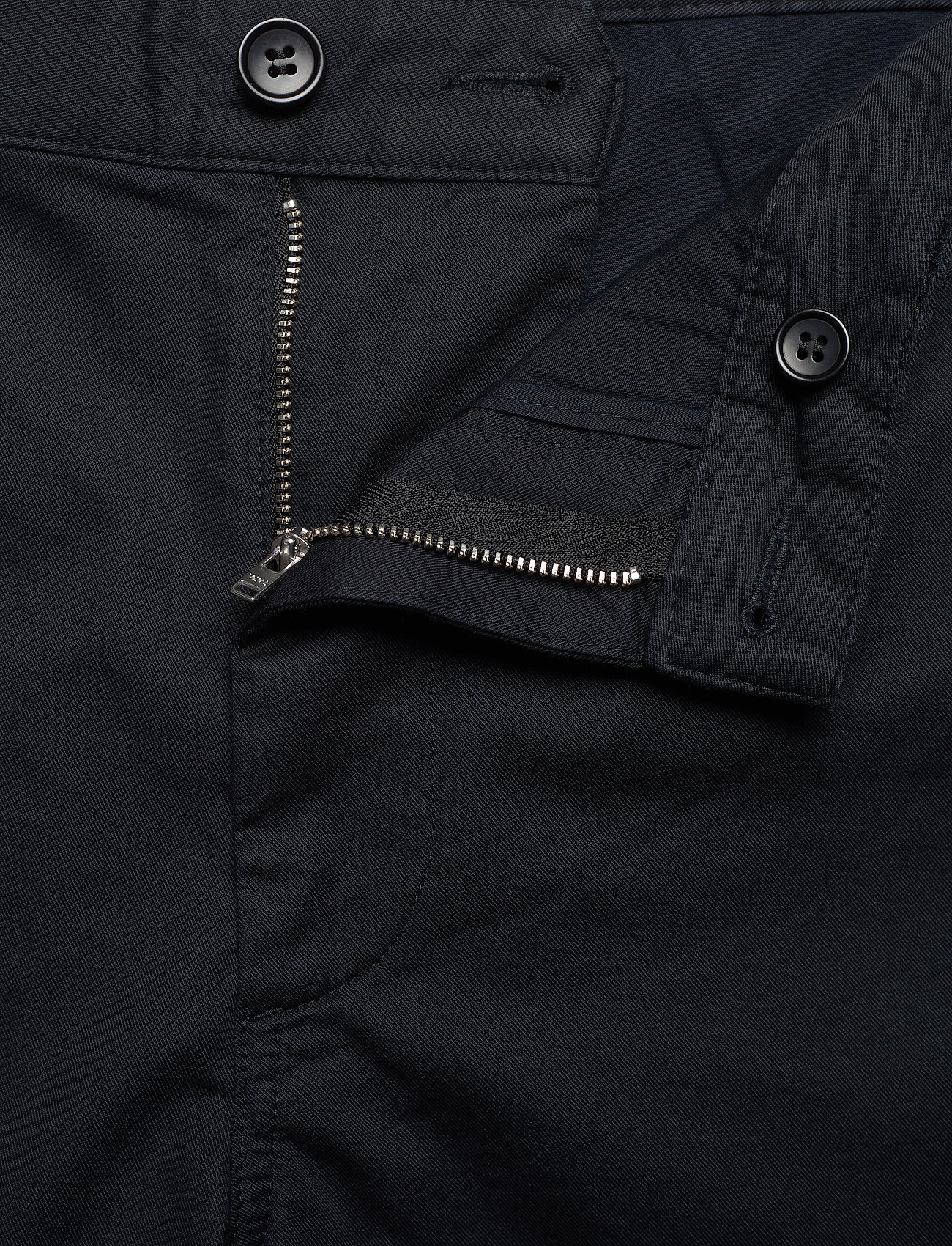 Wood Wood - Jonathan light twill shorts - chino's shorts - black - 4