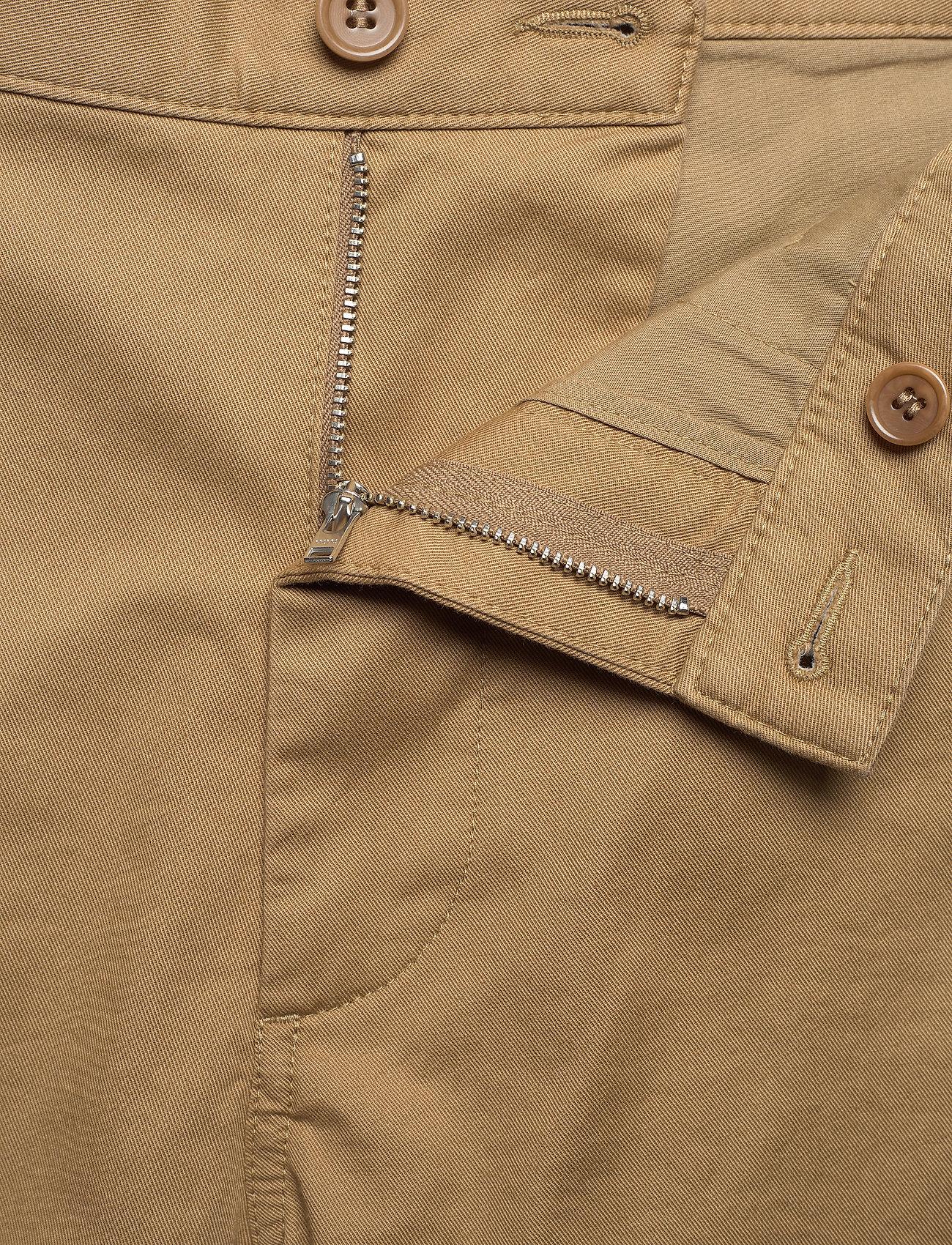 Wood Wood - Jonathan light twill shorts - chino's shorts - khaki - 3