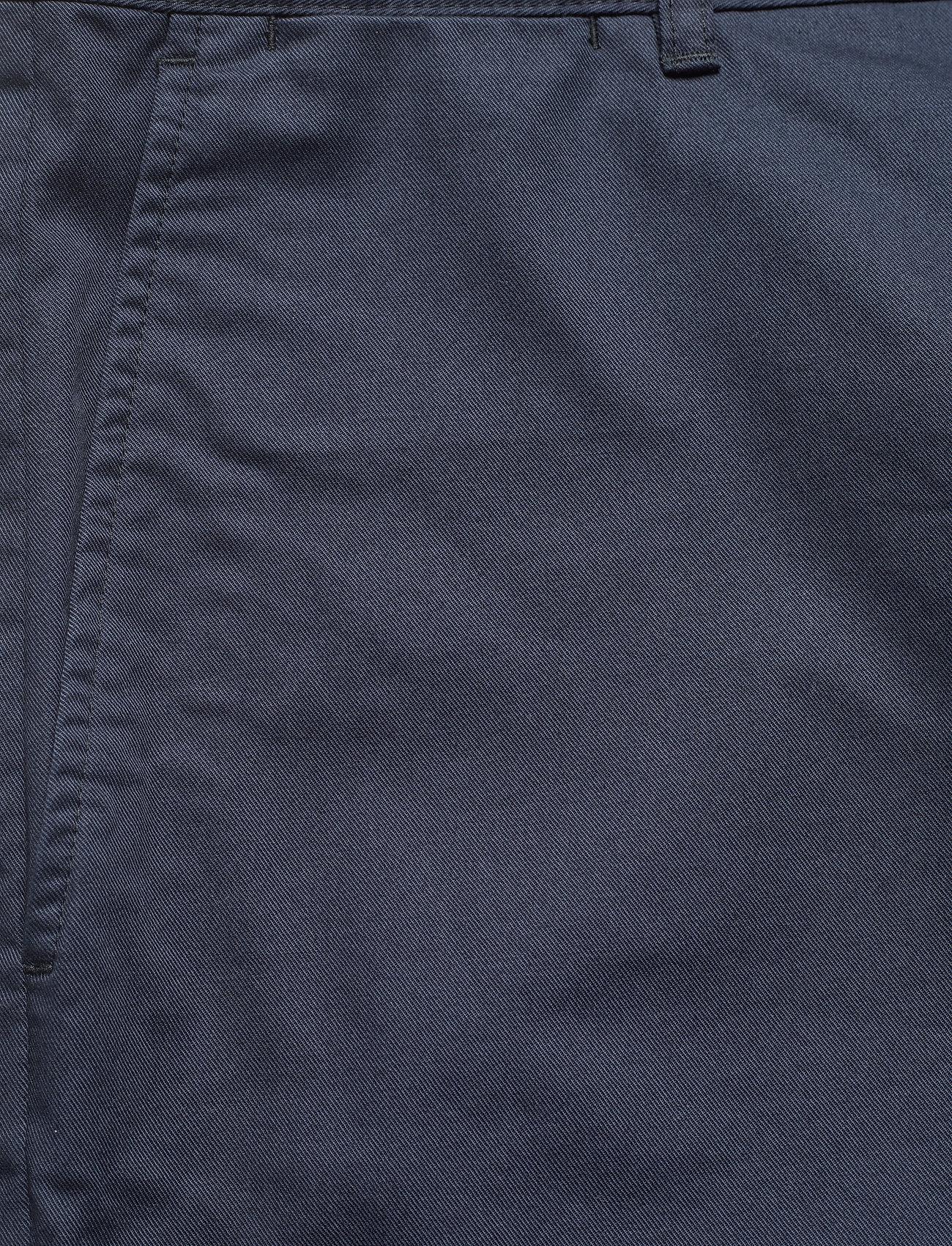 Wood Wood - Jonathan light twill shorts - chino's shorts - navy - 2
