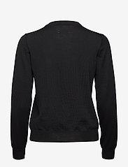 Wood Wood - Lyn crewneck - trøjer - black - 1