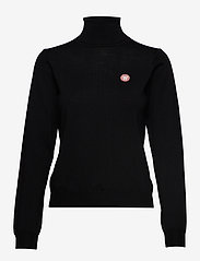 Wood Wood - Bea turtleneck - rullekraver - black - 0