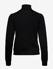 Wood Wood - Bea turtleneck - rullekraver - black - 1