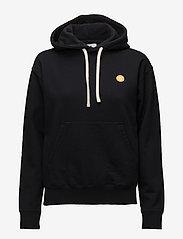 Wood Wood - Jenn hoodie - hættetrøjer - black - 0