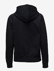 Wood Wood - Jenn hoodie - hættetrøjer - black - 1
