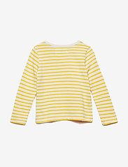 Wood Wood - Kim kids long sleeve - langärmelig - off-white/yellow stripes - 1