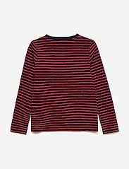 Wood Wood - Kim kids long sleeve - langärmelige - navy/red stripes - 2