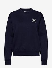 Wood Wood - Jess sweatshirt - swetry - navy - 0