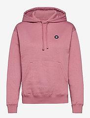 Wood Wood - Jenn hoodie - sweatshirts & hættetrøjer - rose - 0