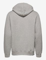 Wood Wood - Ian hoodie - hoodies - grey melange - 1