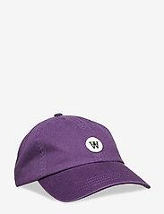Wood Wood - Eli cap - casquettes - aubergine - 0