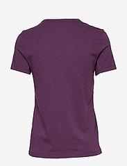 Wood Wood - Uma T-shirt - t-shirts basiques - aubergine - 1