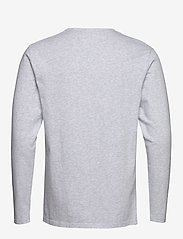 Wood Wood - Mel long sleeve - À manches longues - light grey melange - 1