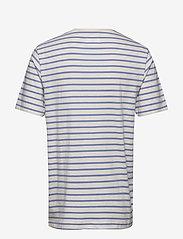 Wood Wood - Ace T-shirt - À manches courtes - off-white/blue stripes - 1