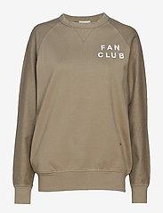 Wood Wood - Hester sweatshirt - sweatshirts - stone - 0