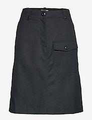 Wood Wood - Runa skirt - midi-röcke - black - 0