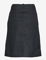 Wood Wood - Runa skirt - midi-röcke - black - 1