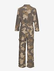 Wood Wood - Irene boilersuit - buksedragter - brush camo aop - 1