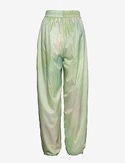 Wood Wood - Joice track trousers - sweatpants - green aop - 1
