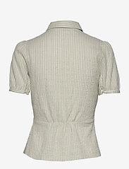 Wood Wood - Lila shirt - lyhythihaiset paidat - green check - 1