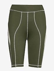 Wood Wood - Elena shorts - cycling shorts - dark green - 0
