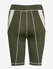 Wood Wood - Elena shorts - cycling shorts - dark green - 1