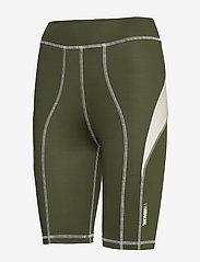 Wood Wood - Elena shorts - cycling shorts - dark green - 2