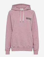 Wood Wood - Fred hoodie - bluzy z kapturem - lilac - 0