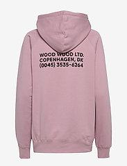 Wood Wood - Fred hoodie - bluzy z kapturem - lilac - 1