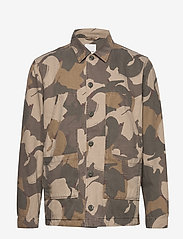 Wood Wood - Fabian shirt - overshirts - brush camo aop - 0