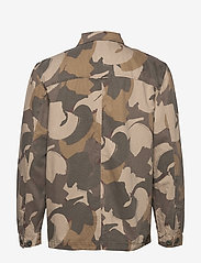 Wood Wood - Fabian shirt - overshirts - brush camo aop - 1
