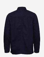 Wood Wood - Fabian shirt - overshirts - navy - 1