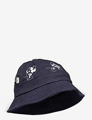 Wood Wood - Ivan bucket hat - bucket hats - navy - 0