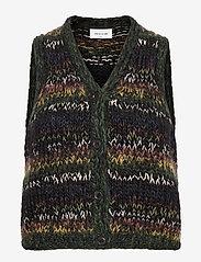 Wood Wood - Nina vest - knitted vests - multicolor - 0