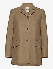 Wood Wood - Anna jacket - wool jackets - khaki - 0