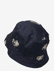 Wood Wood - Graphic bucket hat - bonnets & casquettes - blue aop - 1