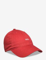 Low profile twill cap - BLOOD ORANGE